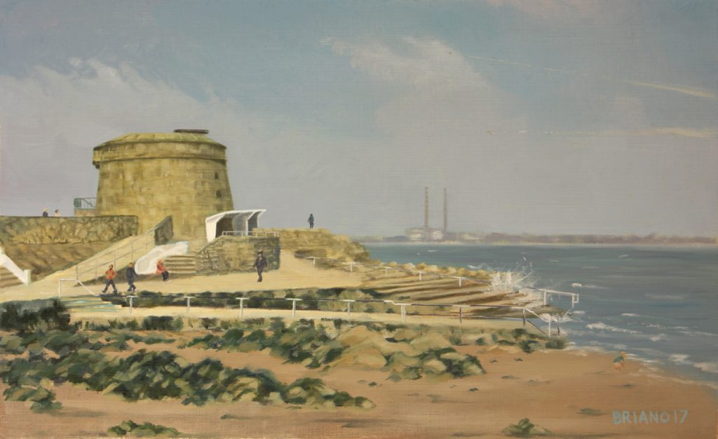Monkstown martello tower dublin
