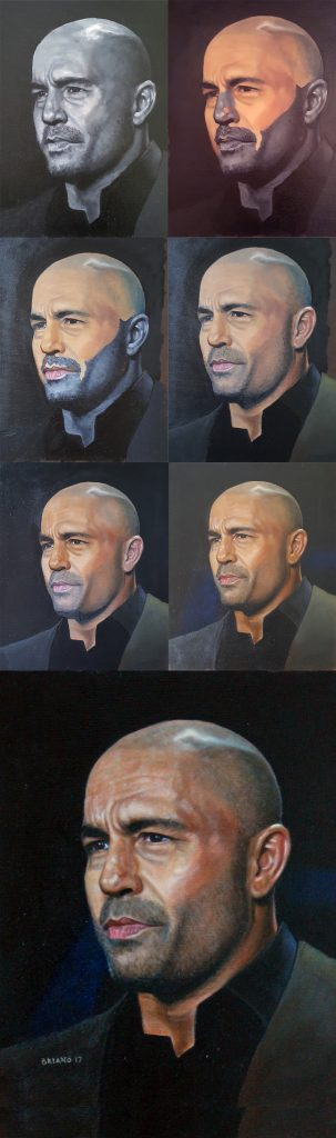 process pic of joe rogan